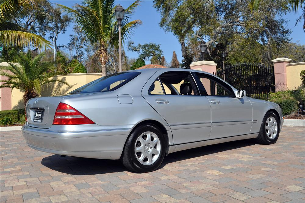 2001 mercedes benz s430 4 door sedan 152150 for S430 mercedes benz