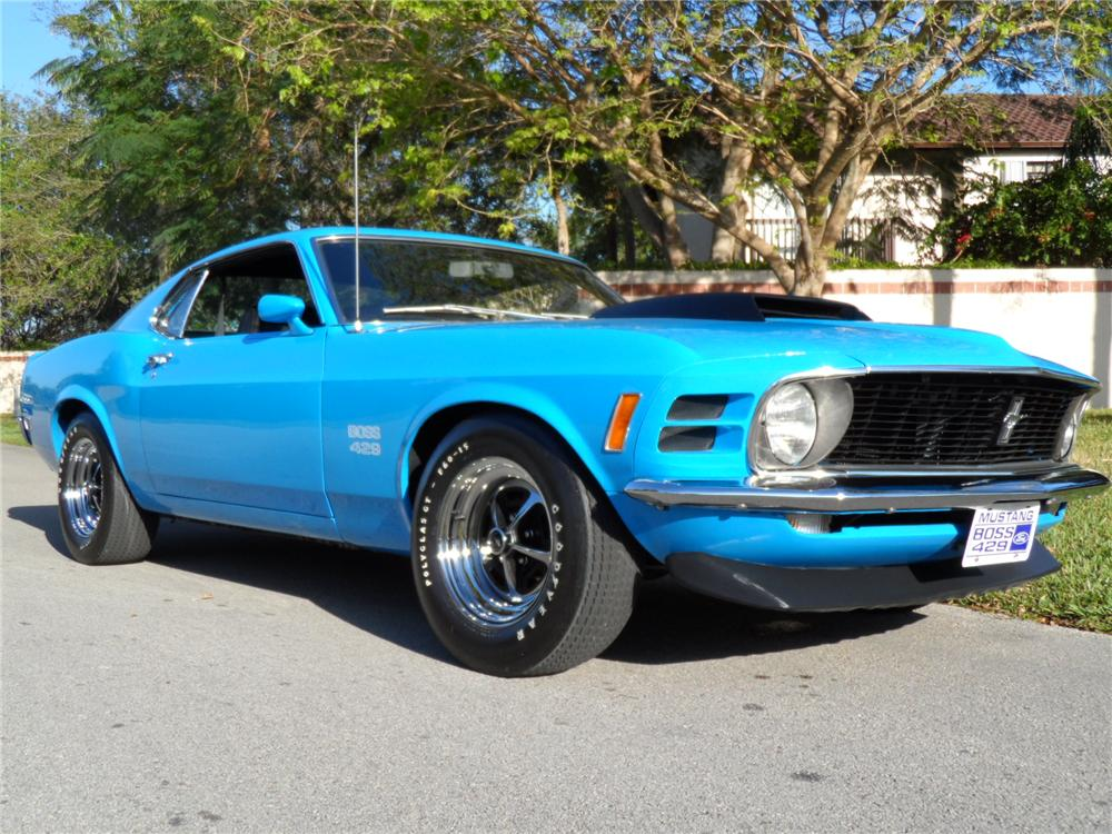 1970 FORD MUSTANG BOSS 429 FASTBACK - Front 3/4 - 152152