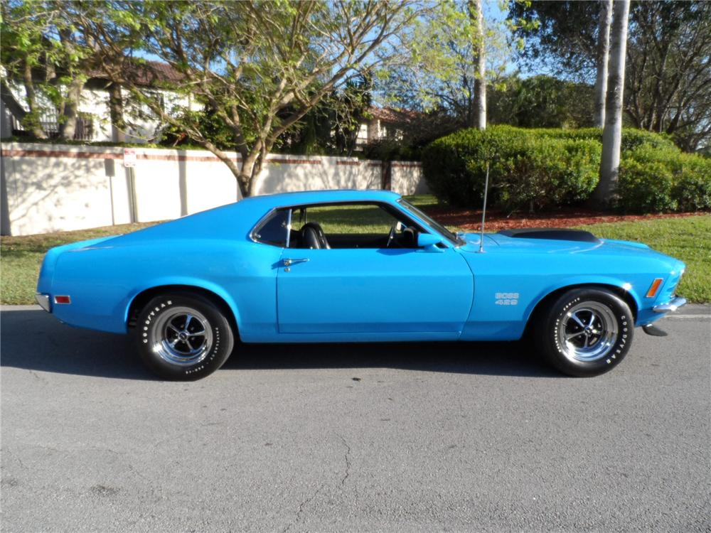 1970 FORD MUSTANG BOSS 429 FASTBACK - 152152