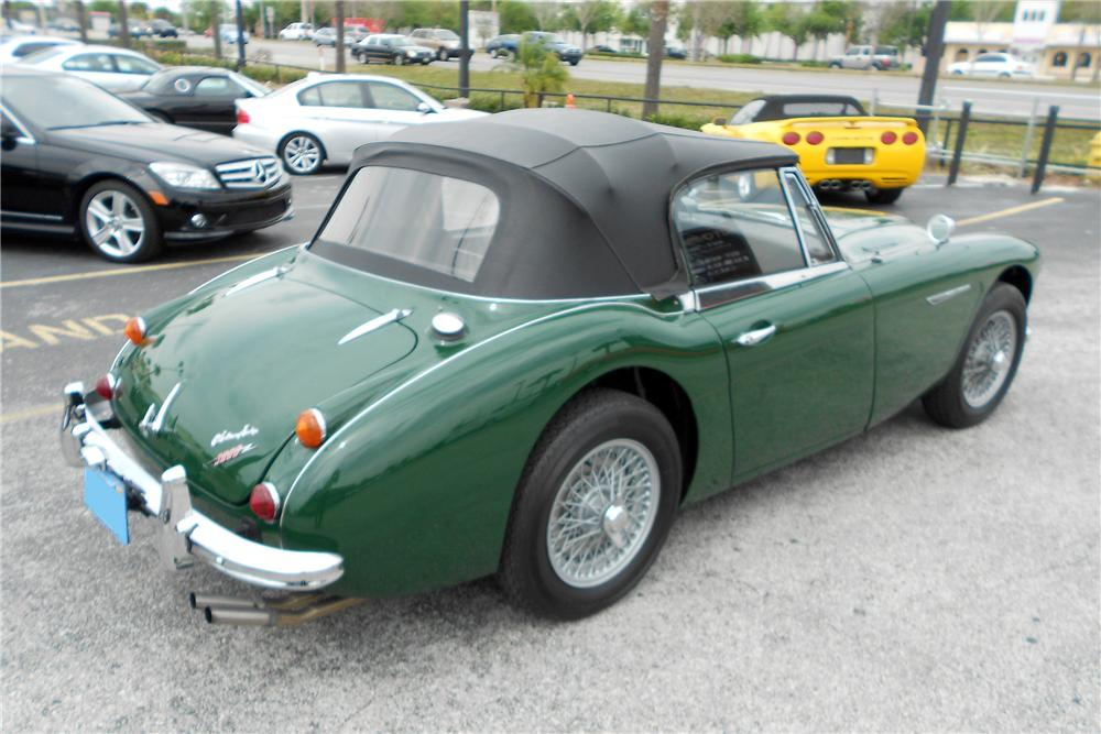 1967 AUSTIN-HEALEY BJ8 CONVERTIBLE - Rear 3/4 - 152161