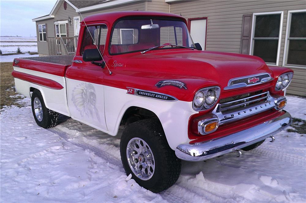 Chevy Apache Pickups For Saleon 1957 Chevy Stepside Pickup Truck Sale