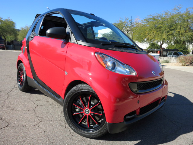 2010 SMART CAR FORTWO PASSION CONVERTIBLE - Front 3/4 - 152165