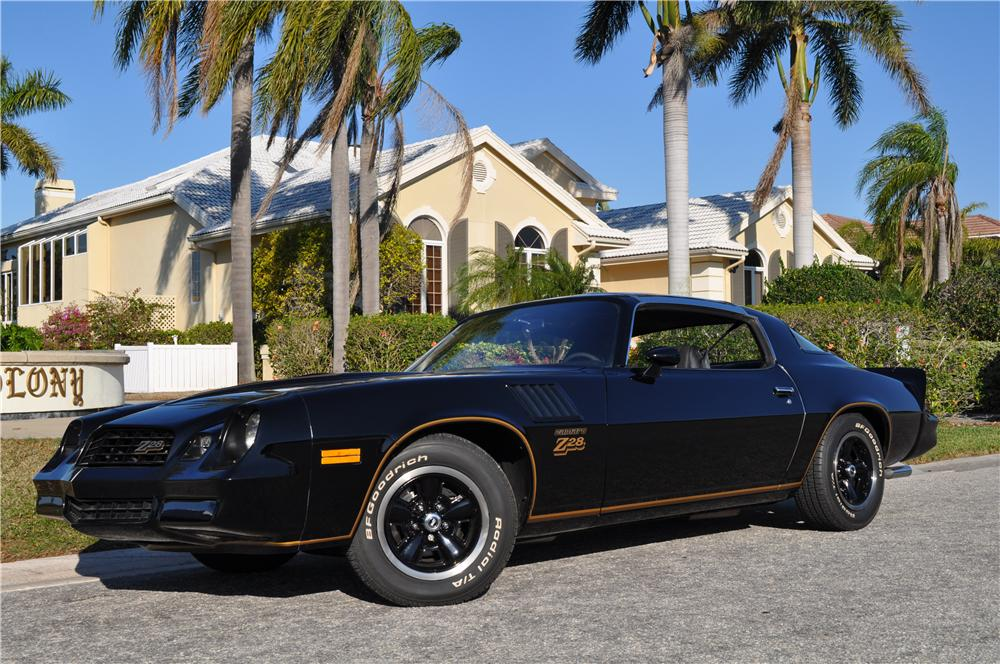 1978 CHEVROLET CAMARO Z/28 2 DOOR COUPE - Front 3/4 - 152167