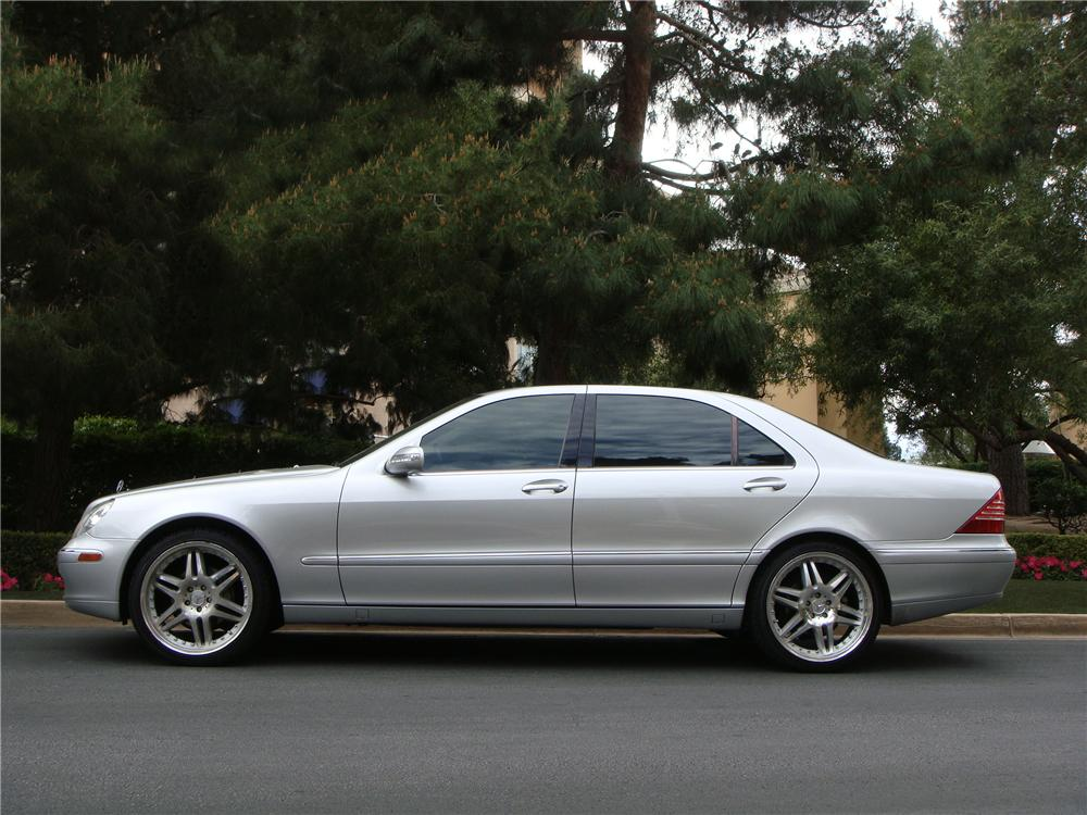 2003 mercedes benz s430 4 door sedan 152171