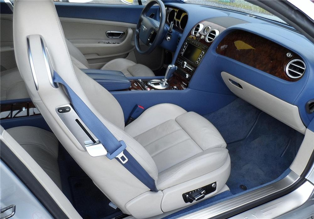 2005 BENTLEY CONTINENTAL GT 2 DOOR COUPE - Interior - 152176