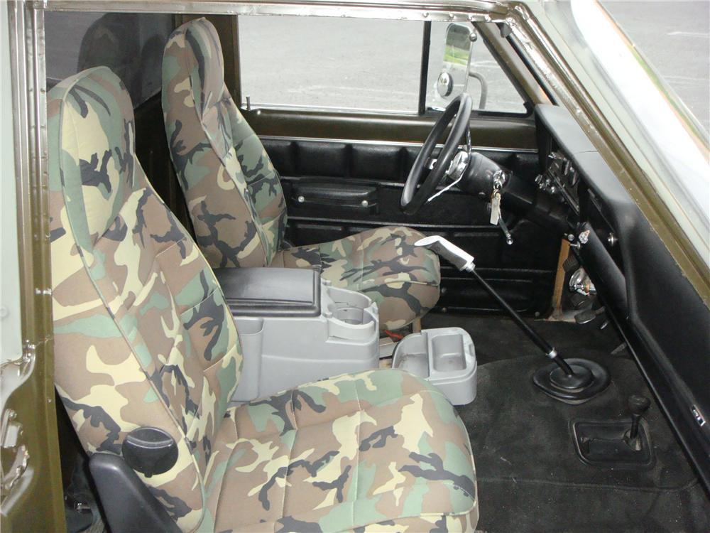 1974 JEEP J10 MARINE PICKUP - Interior - 152473