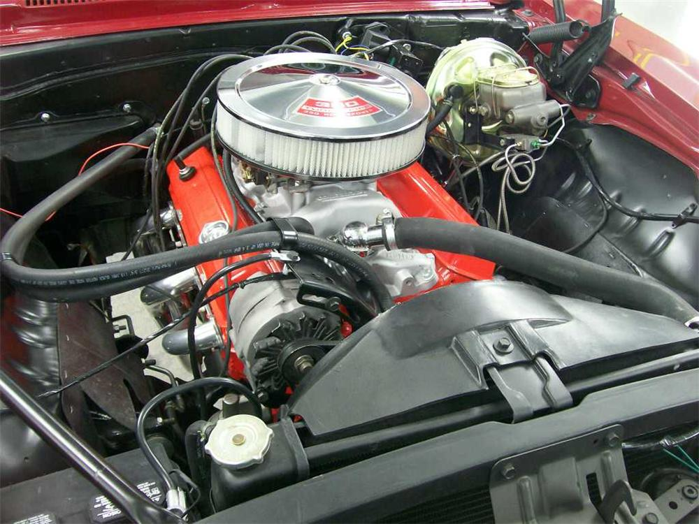 1969 CHEVROLET CAMARO SS 2 DOOR COUPE - Engine - 152495