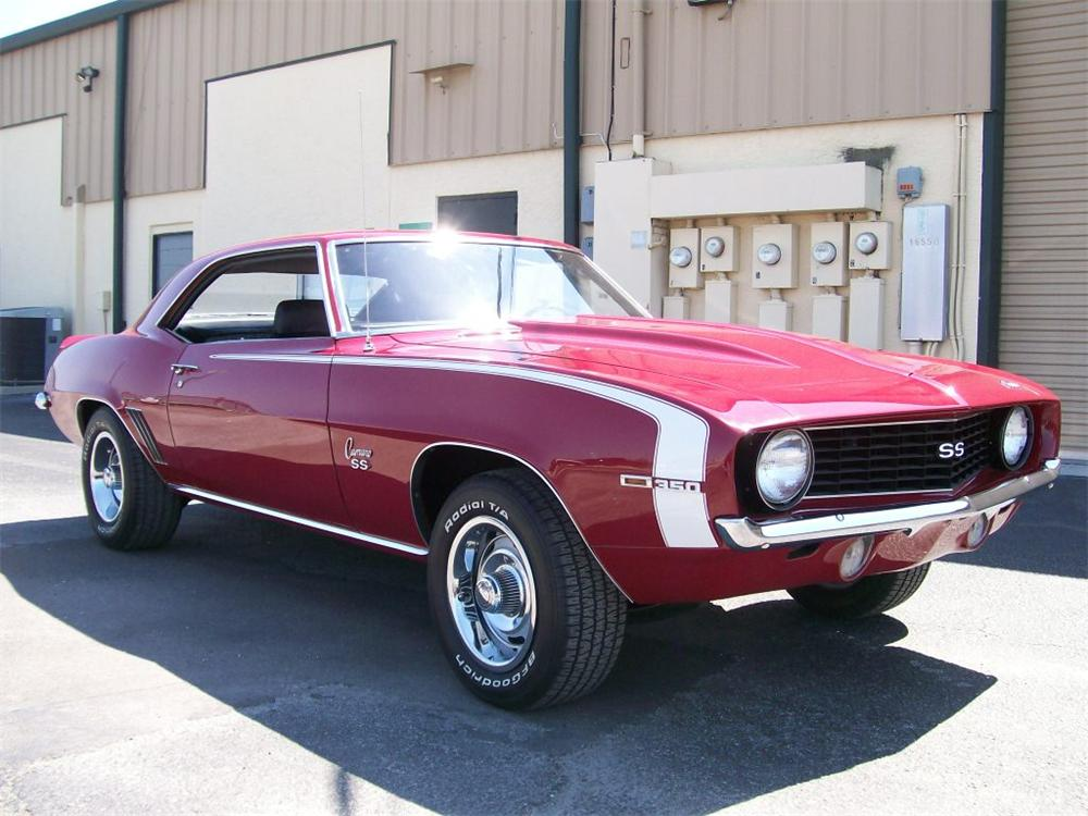 1969 chevrolet camaro ss 2 door coupe 152495. Black Bedroom Furniture Sets. Home Design Ideas