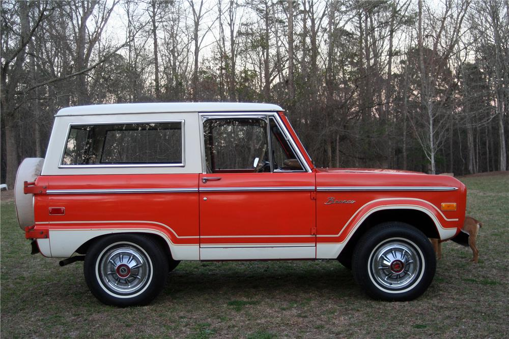 1976 FORD BRONCO FULL CAB - Side Profile - 152515