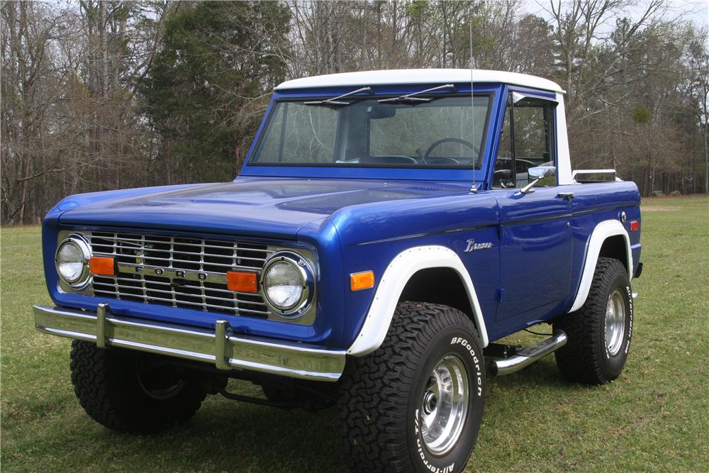 1976 FORD BRONCO 1/2 CAB - 152516