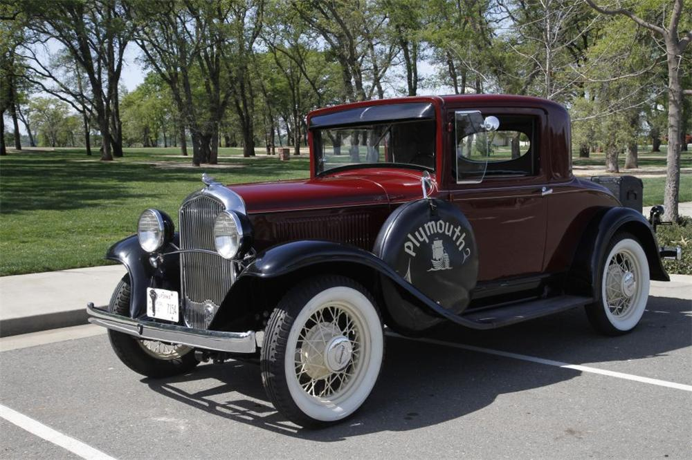 1932 plymouth 2 door coupe 152736