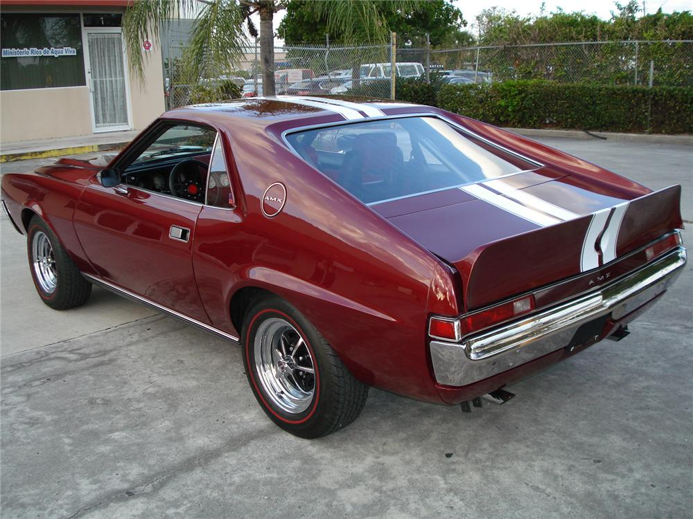 1969 AMERICAN MOTORS AMX CUSTOM 2 DOOR COUPE - Rear 3/4 - 153535
