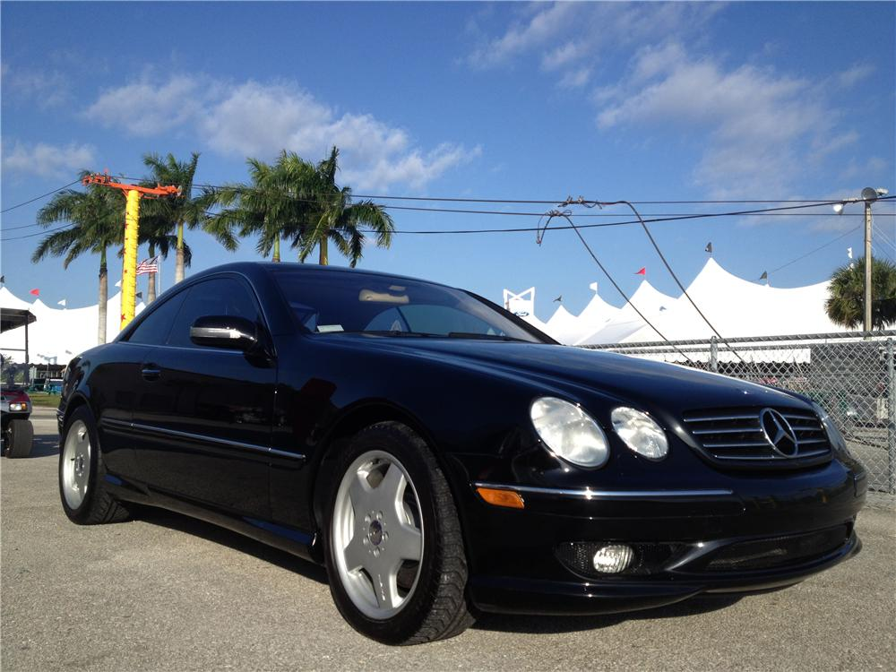 2002 MERCEDES-BENZ CL55 AMG 2 DOOR COUPE - Front 3/4 - 153694