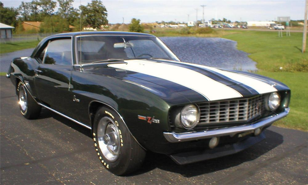 1969 CHEVROLET CAMARO Z/28 COUPE - Front 3/4 - 15372