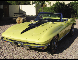 1967 CHEVROLET CORVETTE 427/400 CONVERTIBLE -  - 15374