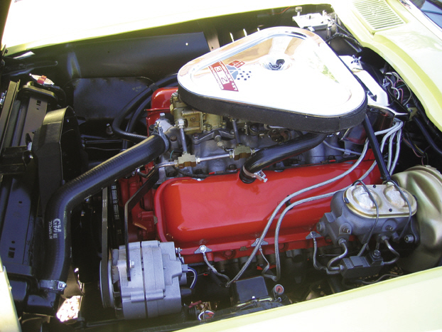 1967 CHEVROLET CORVETTE 427/400 CONVERTIBLE - Engine - 15374