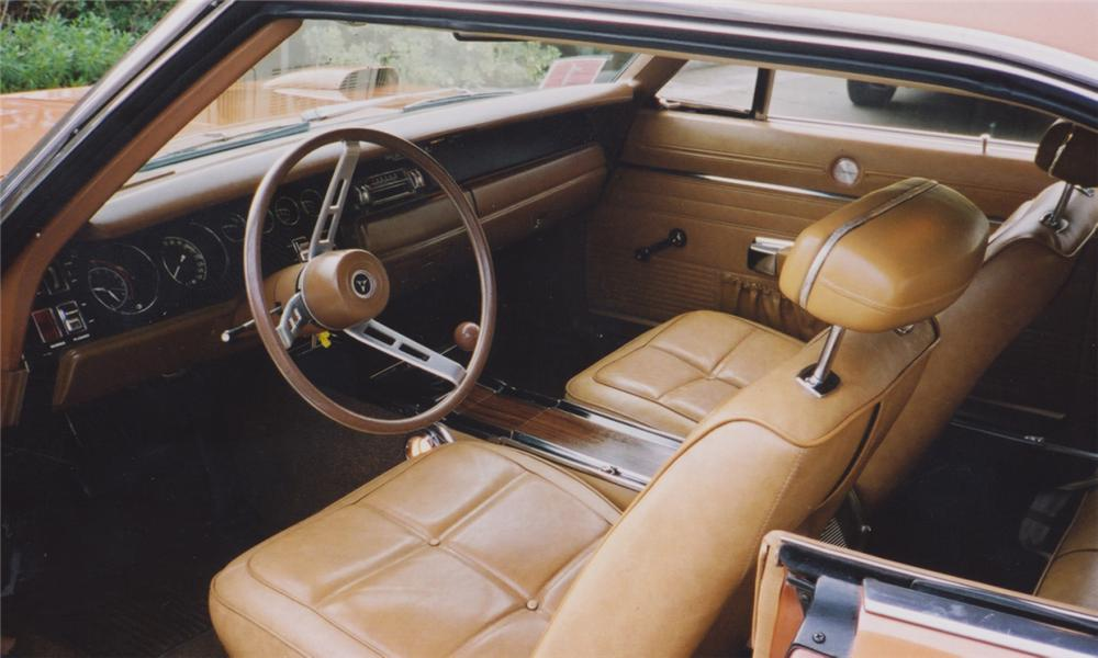 1969 DODGE DAYTONA COUPE - Interior - 15376