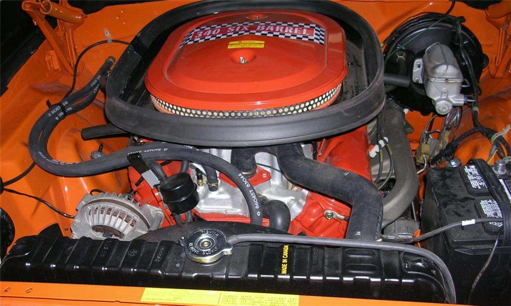1970 PLYMOUTH CUDA 2 DOOR - Engine - 15378