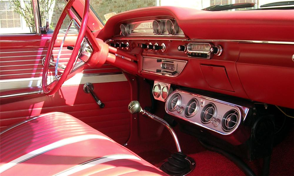 1962 FORD GALAXIE 2 DOOR - Interior - 15380