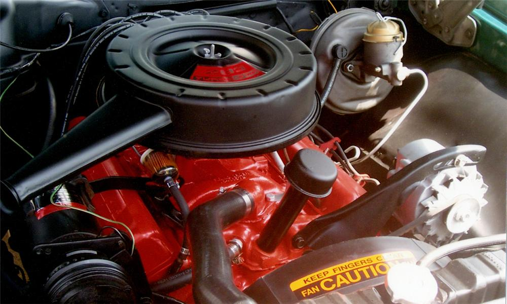 1966 CHEVROLET CHEVELLE 2 DOOR - Engine - 15384