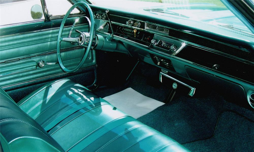 1966 CHEVROLET CHEVELLE 2 DOOR - Interior - 15384