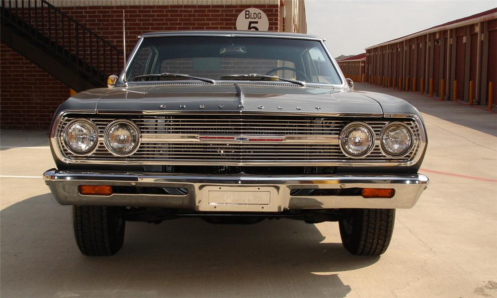 1965 CHEVROLET MALIBU SS 2 DOOR HARDTOP - Side Profile - 15386