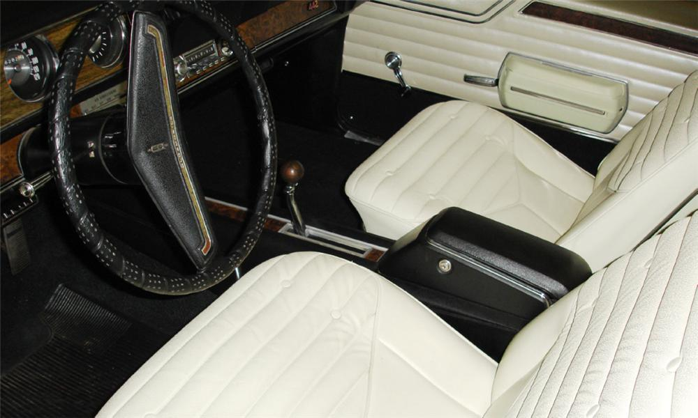 1970 OLDSMOBILE 442 COUPE - Interior - 15388
