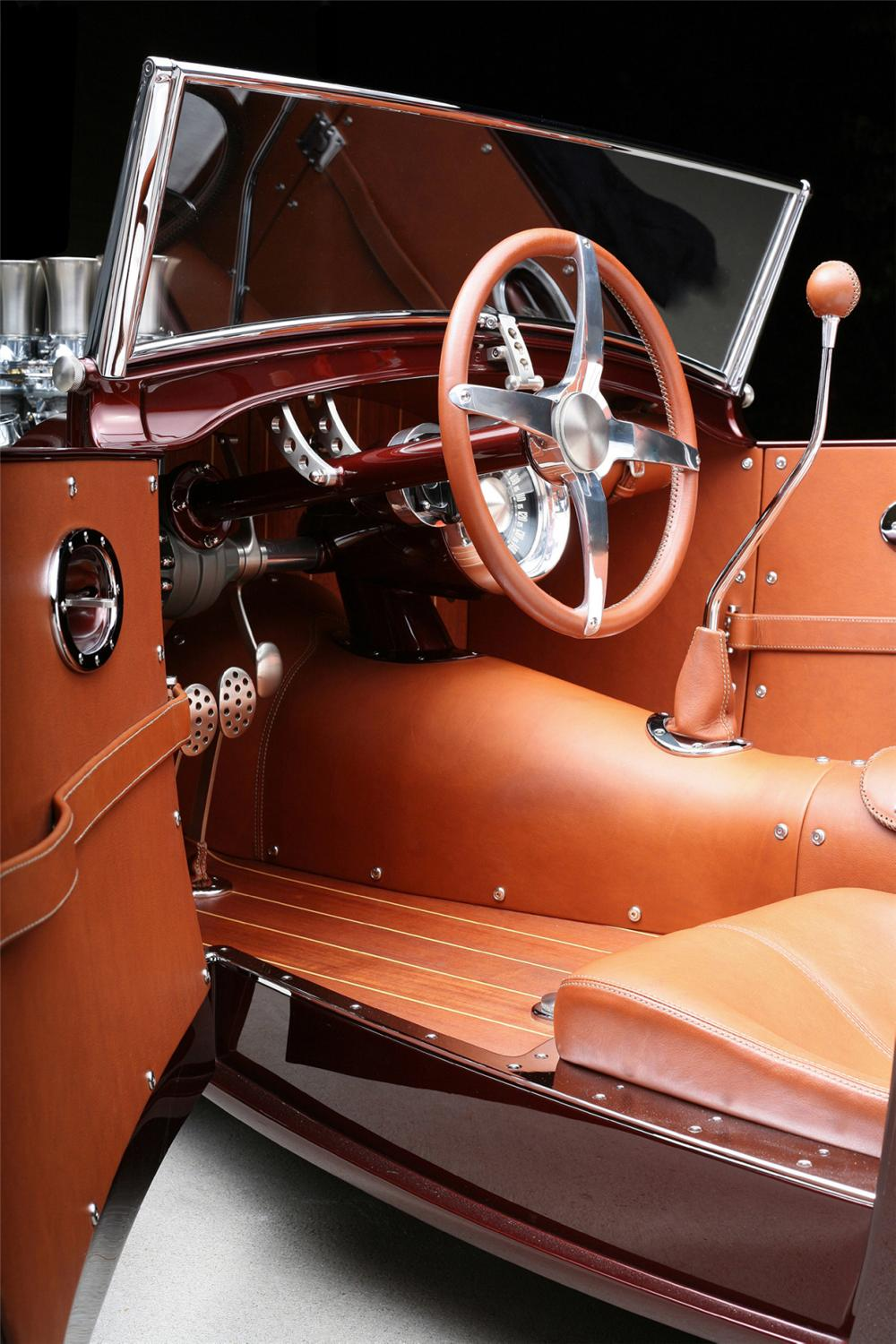 "1929 FORD HOT ROD PICKUP ""LOADED"" - Interior - 15396"