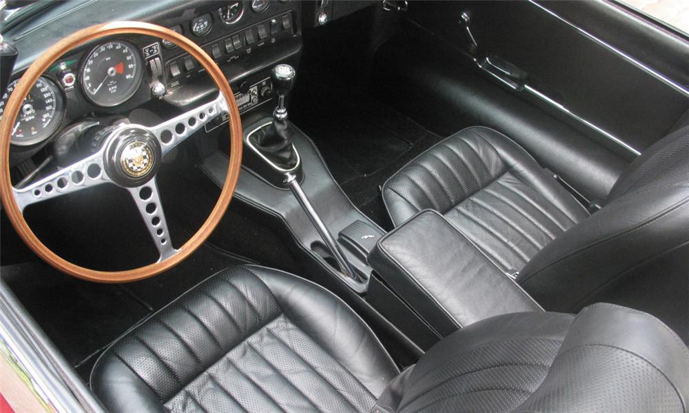1969 JAGUAR XKE SERIES II ROADSTER - Interior - 15401