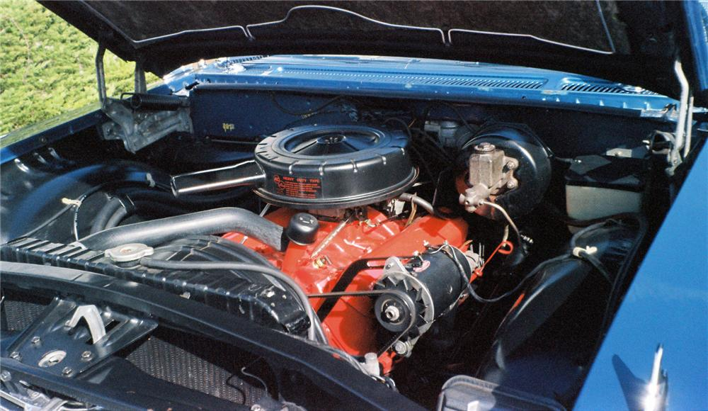 1960 CHEVROLET IMPALA CONVERTIBLE - Engine - 154015
