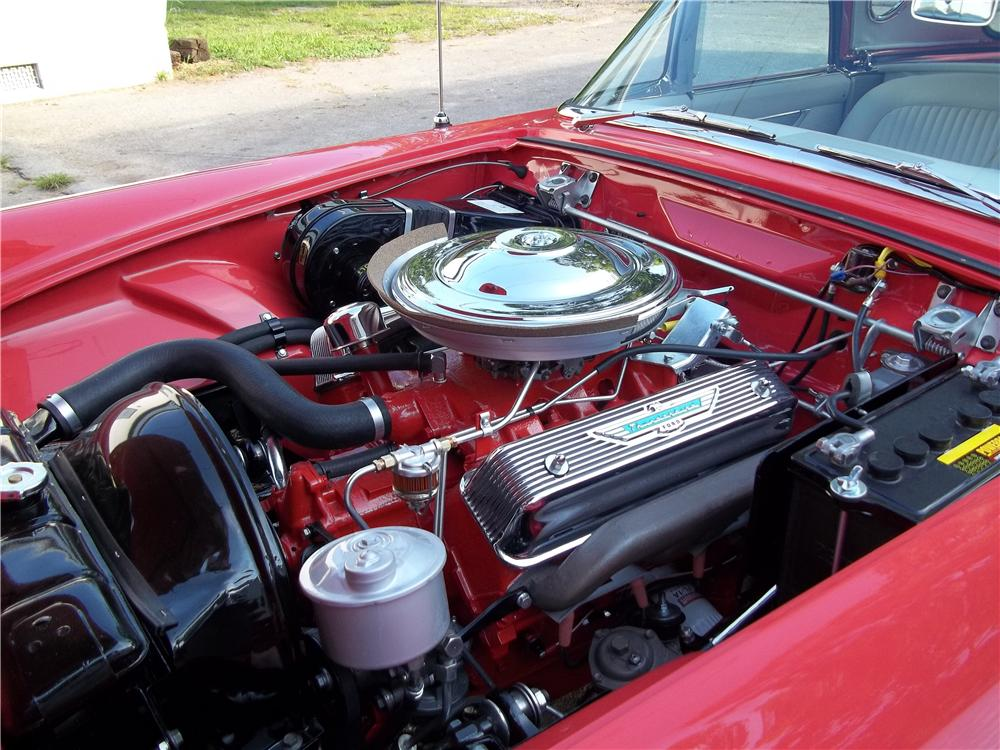 1956 FORD THUNDERBIRD CONVERTIBLE - Engine - 154022