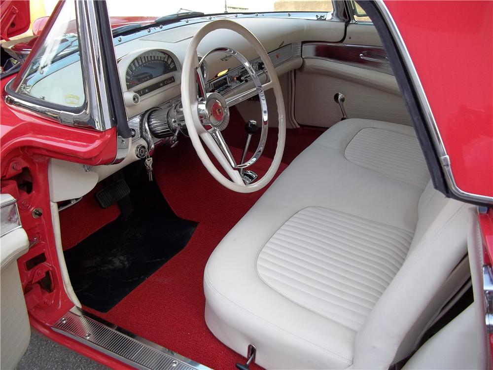 1956 FORD THUNDERBIRD CONVERTIBLE - Interior - 154022