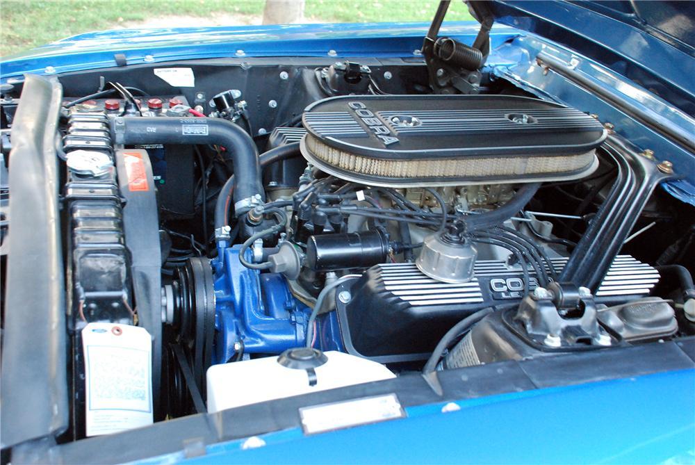 1968 SHELBY GT500 CONVERTIBLE - Engine - 154025