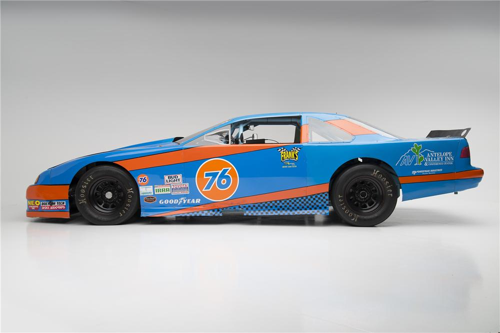 1997 FORD THUNDERBIRD ROAD RACE CAR - Side Profile - 154026