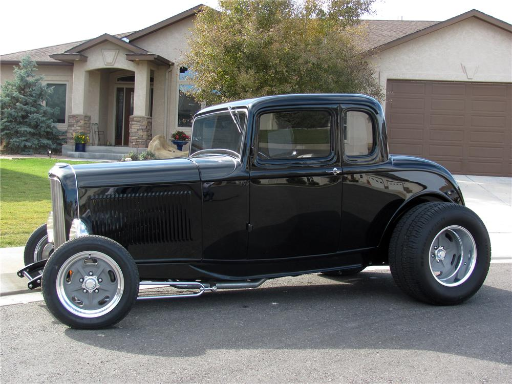 32 ford 3 window coupe barrett jackson autos post for 1932 ford three window coupe for sale