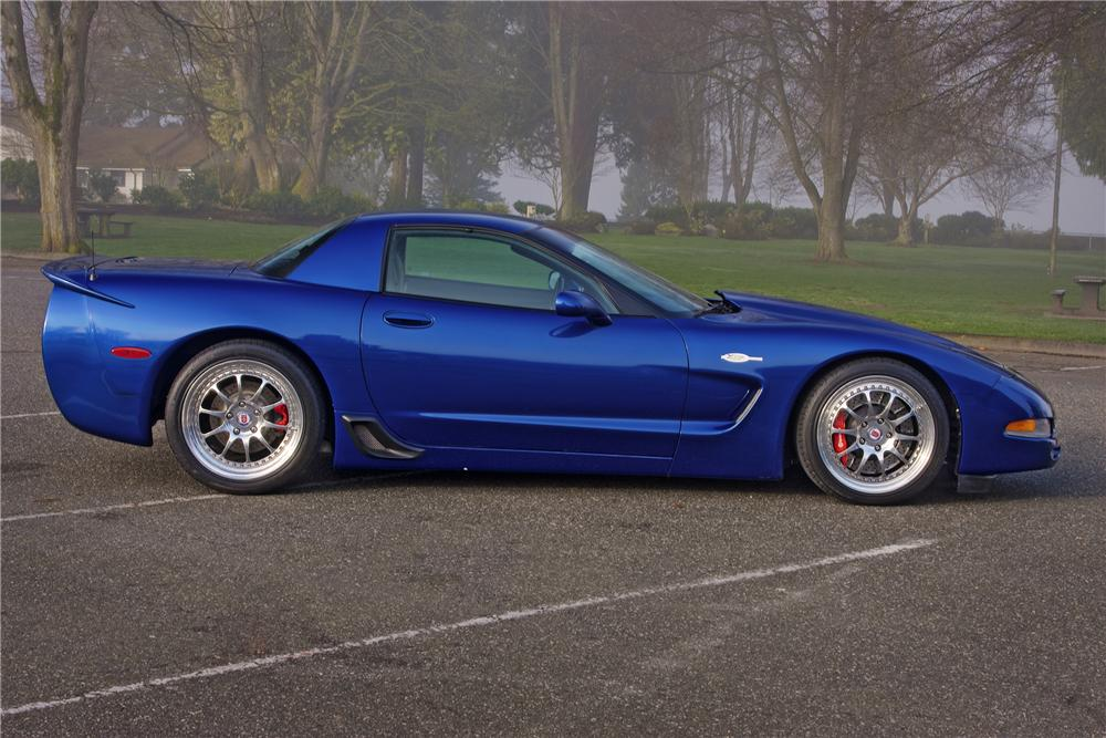 2002 Chevrolet Corvette Z06 Custom 2 Door Coupe 154031