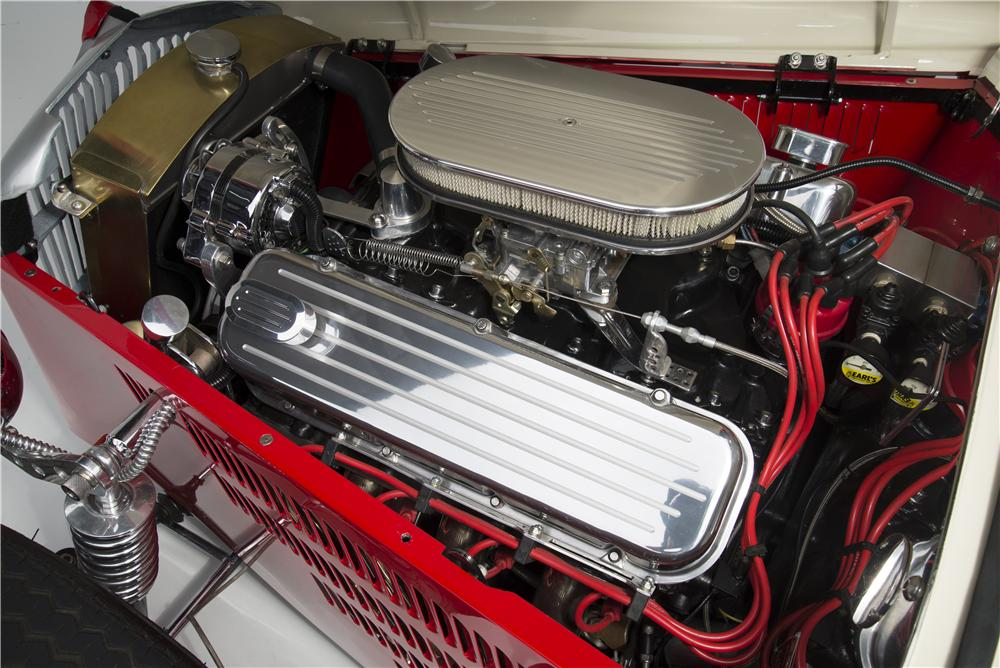 1933 WILLYS CUSTOM HI-BOY ROADSTER - Engine - 154033