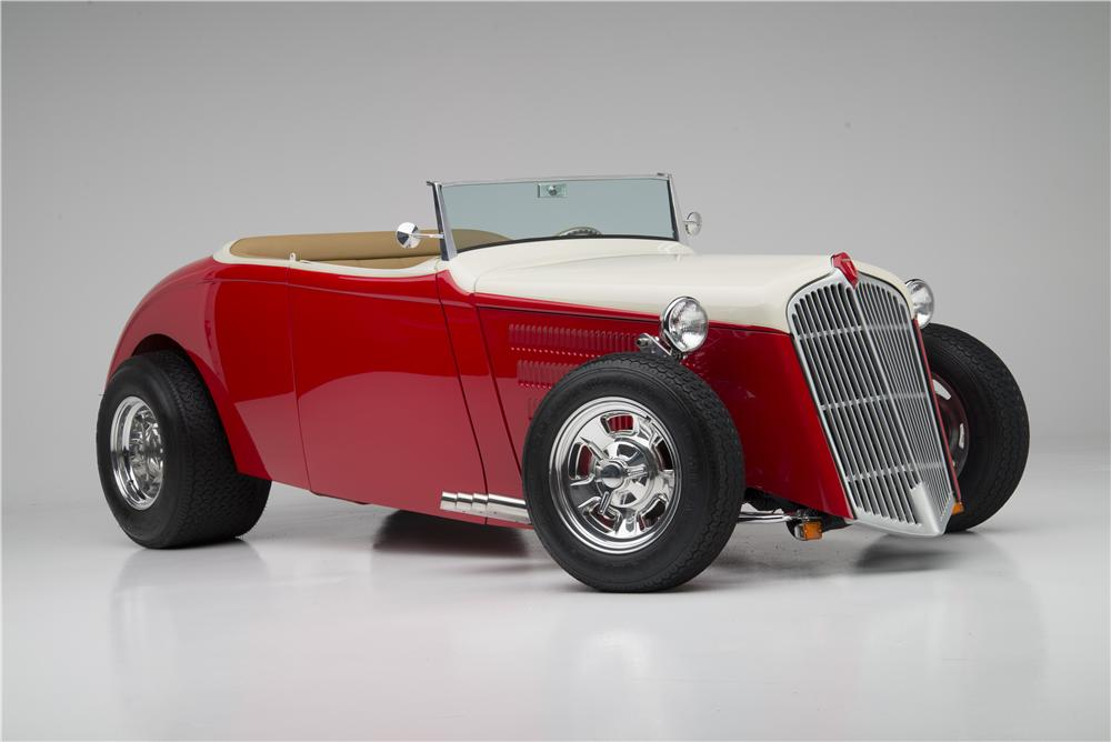1933 WILLYS CUSTOM HI-BOY ROADSTER - Front 3/4 - 154033