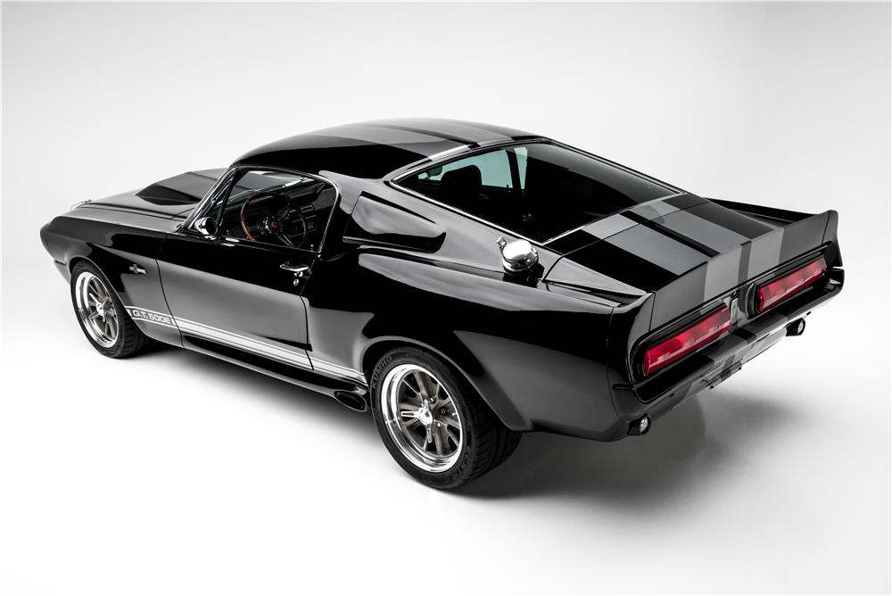 1968 SHELBY GT500 E CONTINUATION FASTBACK - Rear 3/4 - 154035