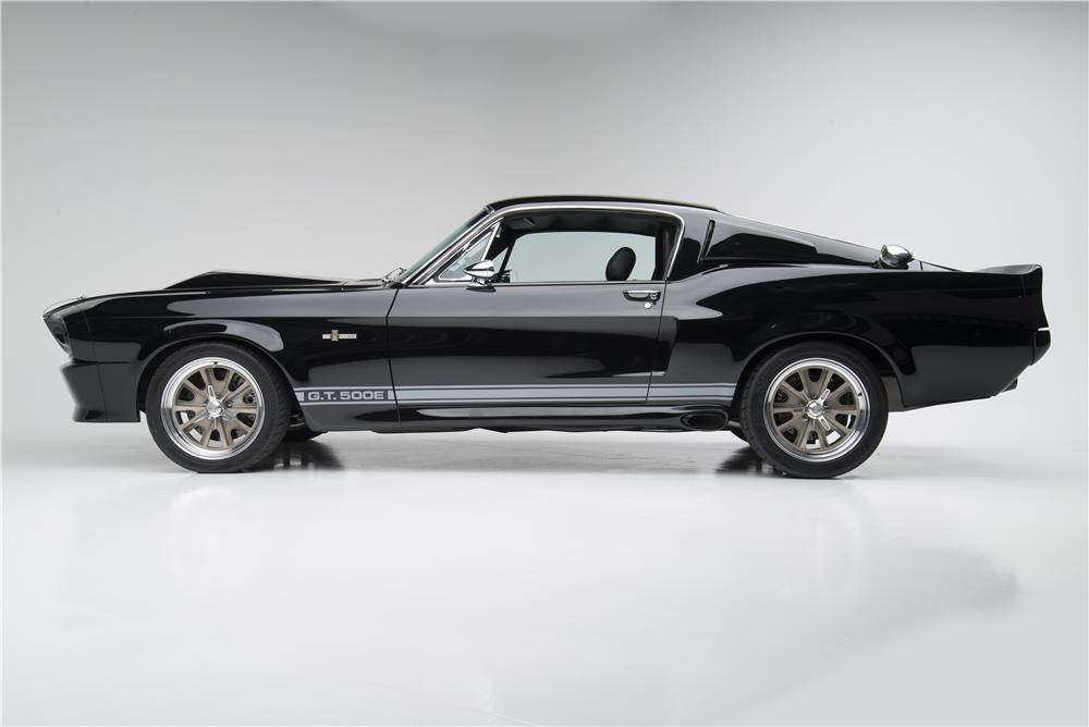 1968 SHELBY GT500 E CONTINUATION FASTBACK - Side Profile - 154035