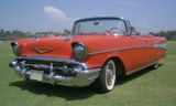 1957 CHEVROLET BEL AIR CONVERTIBLE -  - 15404