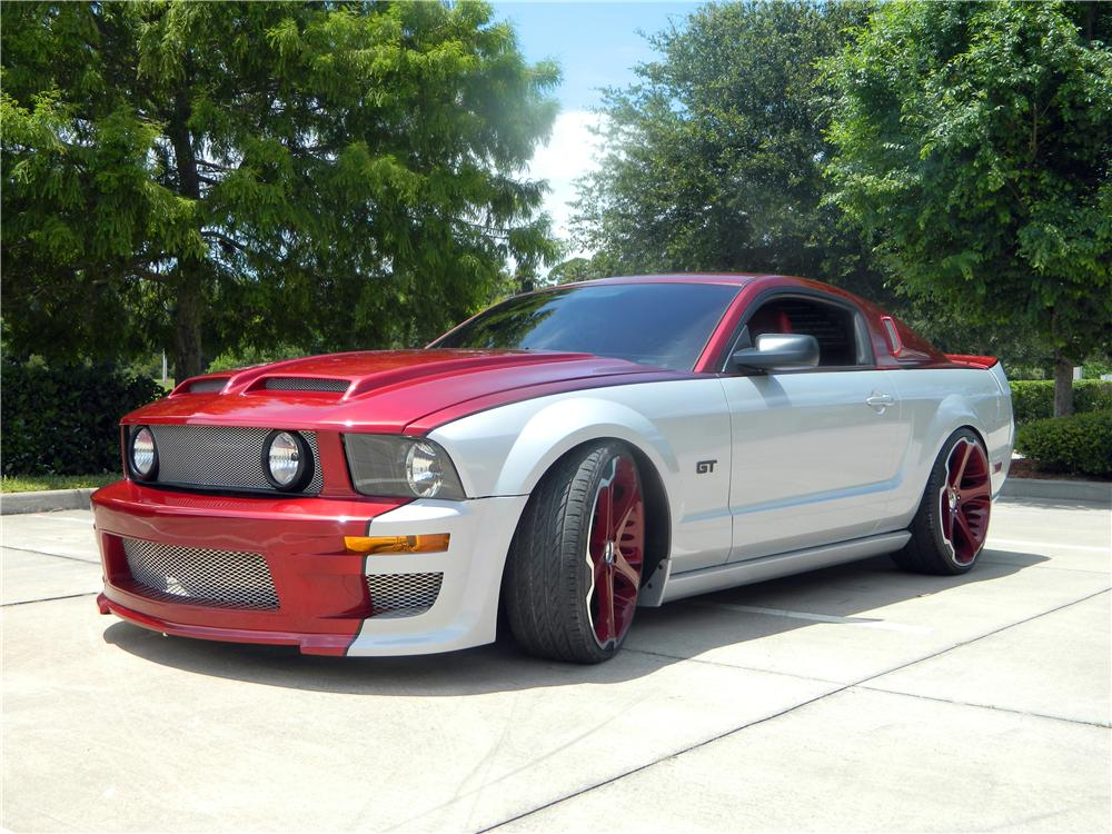 2006 FORD MUSTANG GT CUSTOM 2 DOOR COUPE