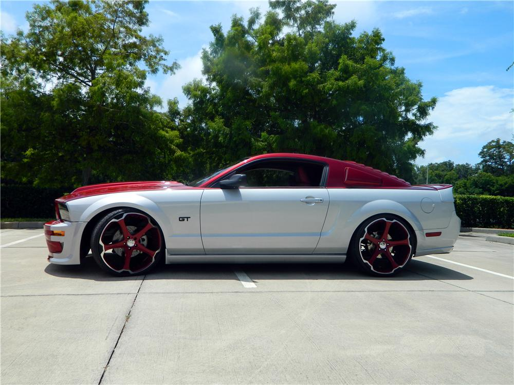 Customized Mustang >> 2006 FORD MUSTANG GT CUSTOM 2 DOOR COUPE - 154040