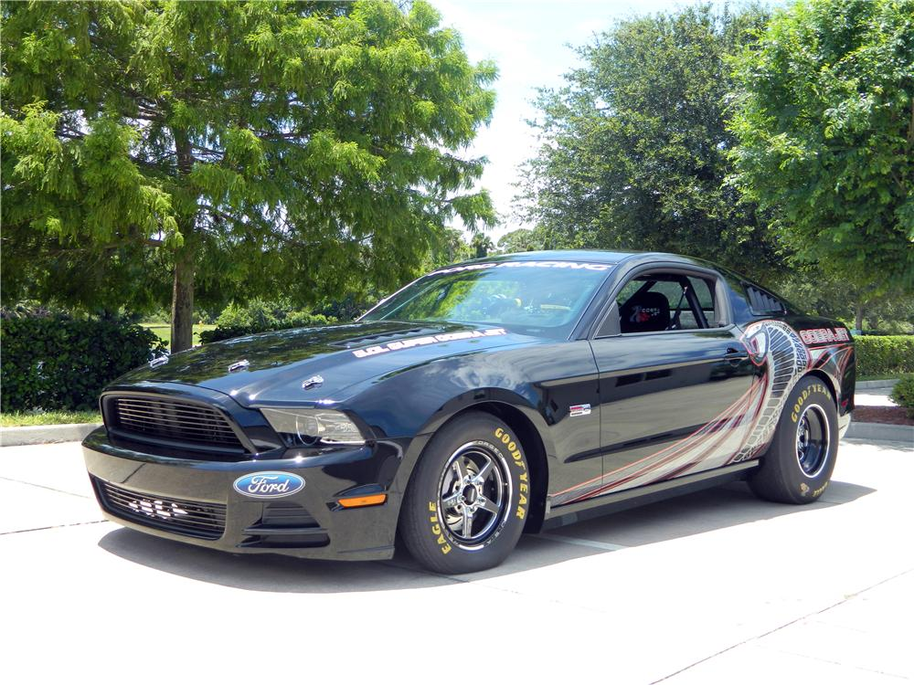 2013 FORD MUSTANG COBRA JET RACE CAR - Front 3/4 - 154043