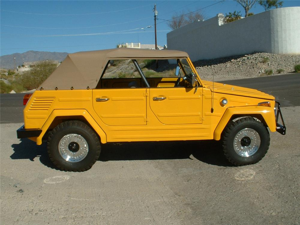 1973 VOLKSWAGEN THING CONVERTIBLE - Side Profile - 154052