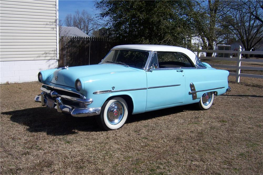 1953 ford victoria 2 door coupe 154053