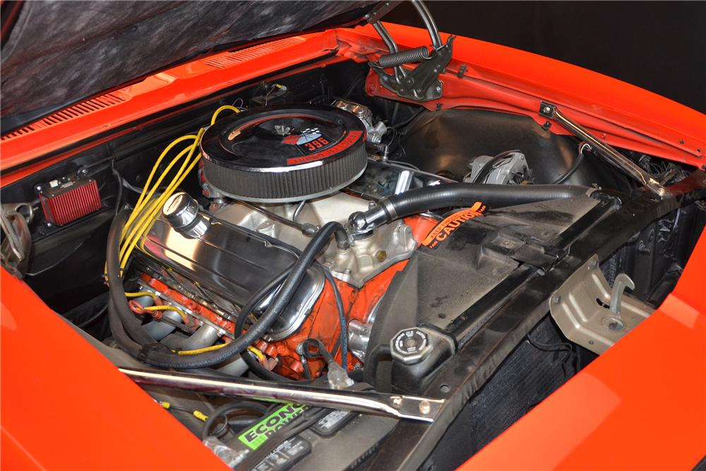 1967 CHEVROLET CAMARO CUSTOM 2 DOOR COUPE - Engine - 154060