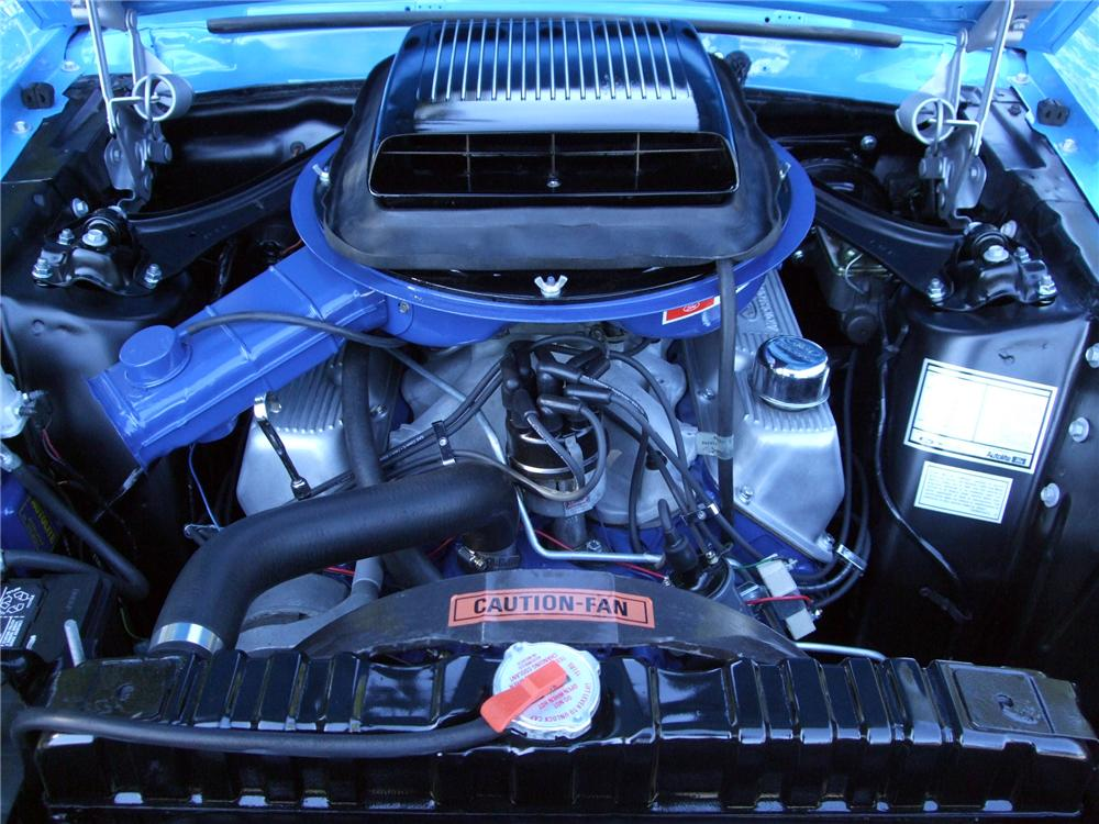 1970 FORD MUSTANG MACH 1 FASTBACK - Engine - 154065