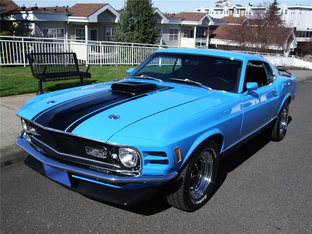 1970 ford mustang mach 1 fastback 154065. Black Bedroom Furniture Sets. Home Design Ideas