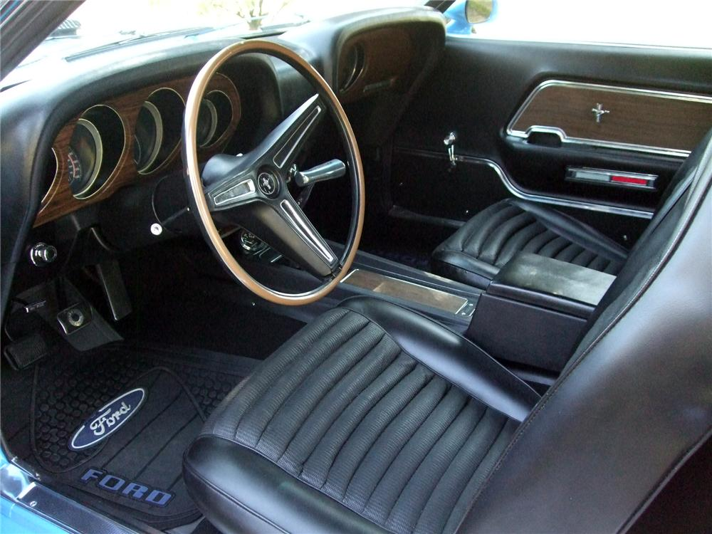 1970 FORD MUSTANG MACH 1 FASTBACK - Interior - 154065